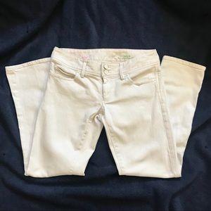 Lily Pulitzer Worth Straight Crop Jean